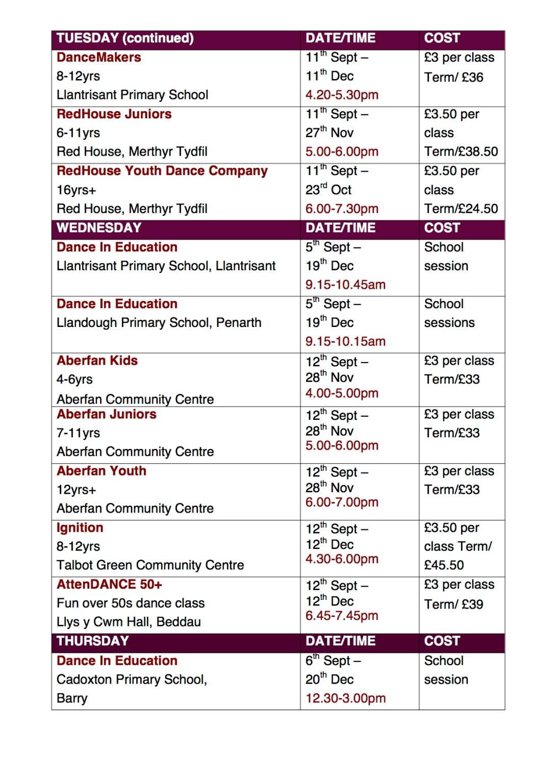 timetable website2