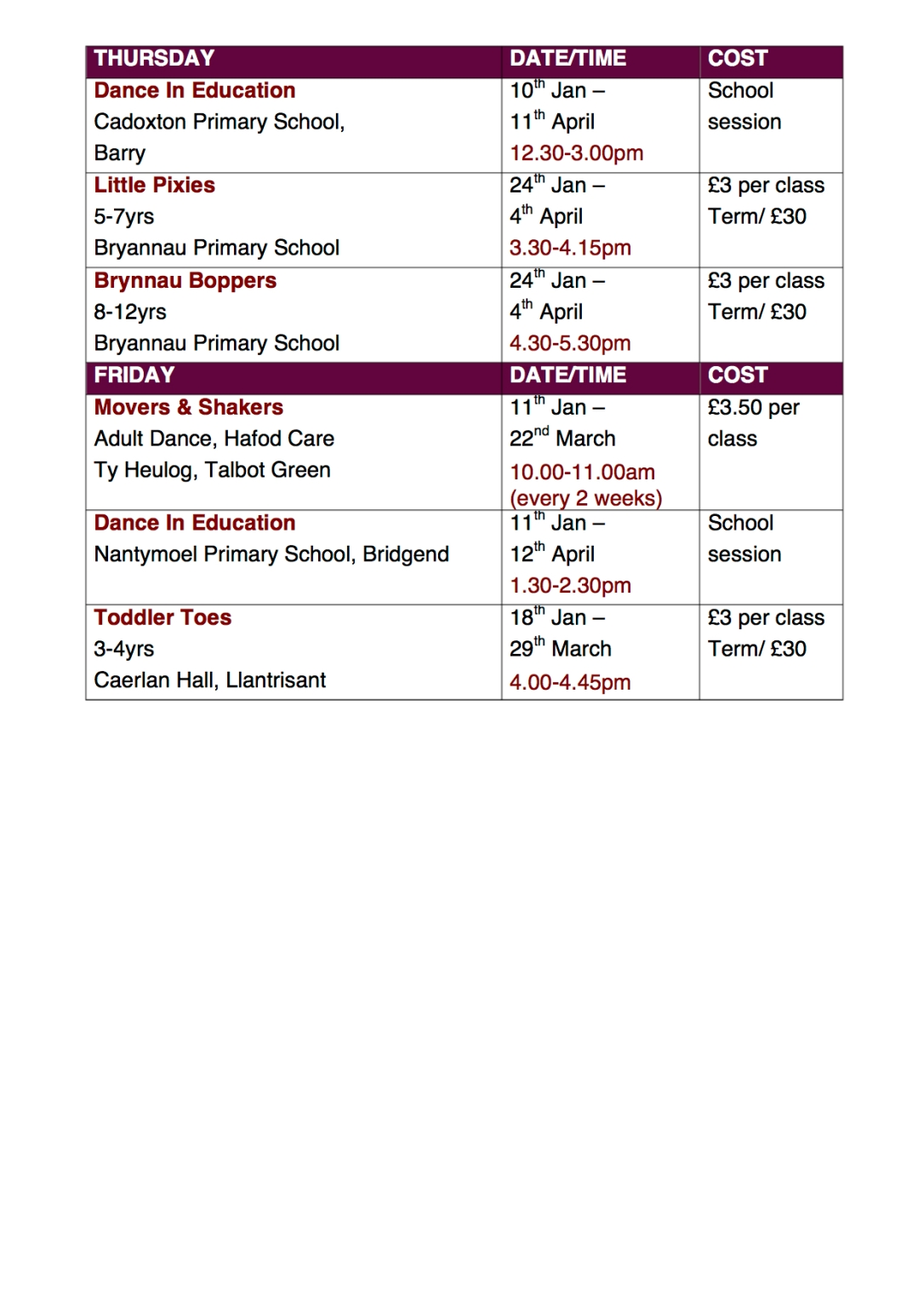 timetable website3